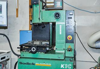高速細穴加工機(ソディックK1C)